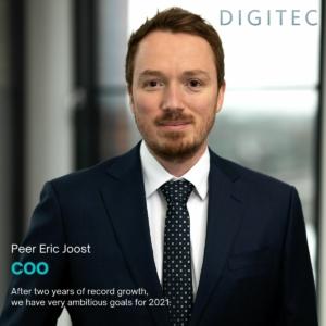 Peer Joost named COO